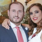 Futuros esposos  Berny Palazuelos Sandoval y Esteban Lemus García