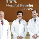 Dr. Sergio Antonio Sandoval Caro, presidente de la Sociedad Médica de Hospital Ángeles Culiacán