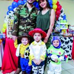 Feliz Cumpleaños Mónica María, Miguel y Javier Cota Ramos