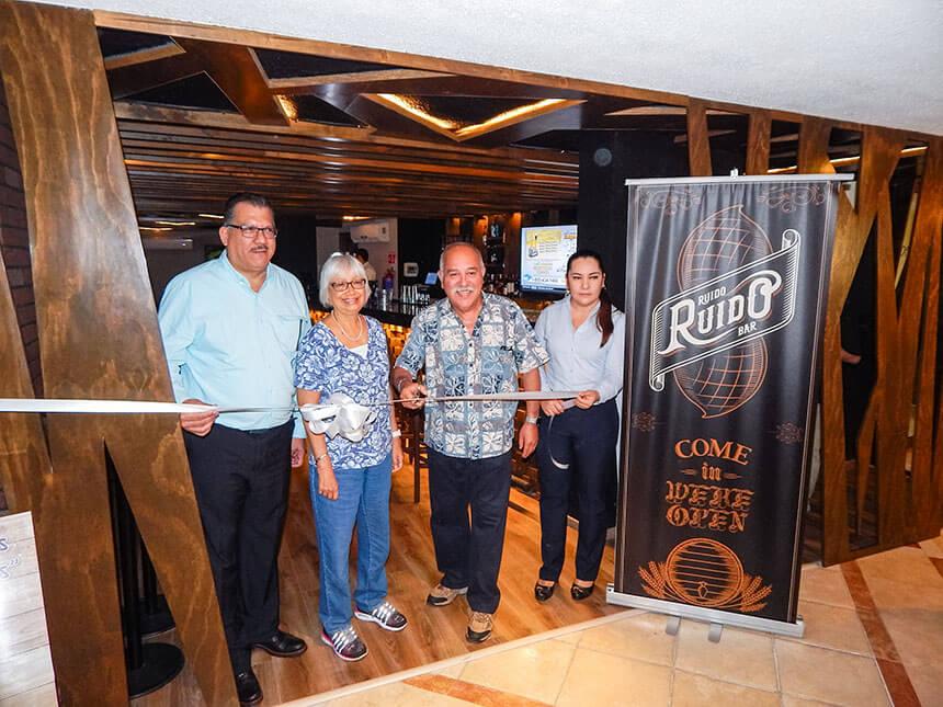 Javier Esquivel, Cecille Beltrán, Francisco Beltrán y Ana Rangel