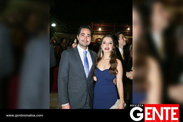Octavio Retamoza y Valeria Valle