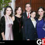 Mariana Martínez y Juan Pablo Del Rincón junto a sus hijos Lucía, Rodrigo y Paola Del Rincón