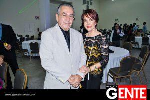 Enrique González Güereña y María Elena Rosete de González