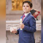Comulga por primera vez José Arturo Ibarra Lizárraga