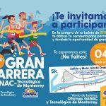 Preparan la 21ª Gran Carrera Ganac – Tecnológico de Monterrey