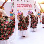 Éxito total la tradicional Kermés Mexicana a beneficio de la Funeraria DIF