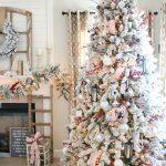 La tendencia en árboles navideños