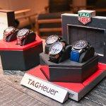 Miguel Ramos presenta los nuevos modelos de Tag Heuer con una cena muy especial