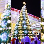 Llegó la navidad a Galerías Mazatlán