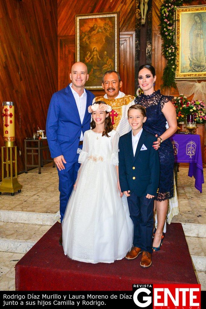 Reciben a Cristo por primera vez Camilla Díaz Moreno y
