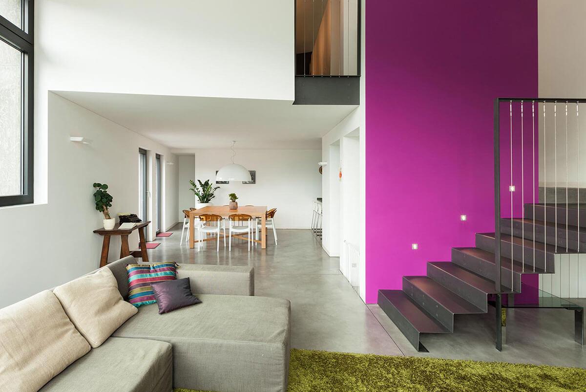 Consejos para darle color a tu casa revista gente sinaloa for Decoracion de interiores de casas minimalistas