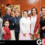 María Castil, Paloma Reyes, Gina Tamayo de Gutiñerrez, Beatriz Gutiérrez de Patiño, Irma Gutiérrez de Castil, María Dolores del Rincón y Yoly Gutiérrez de Orozco