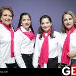 Evangelina Mejía, Silvia Herrera, Silvia Guizar y Conchita Sarabia
