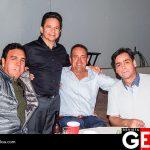 Alfonso Zaragoza, Juan Carlos Letamendi y Miguel Esquer acompañaron al cumpleañero