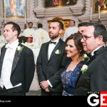 Luis Pablo junto a sus padres y hermanos a la espera del amor de su vida