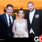 Topo León Tachna felicitó a la pareja por su matrimonio