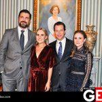 Javier Montemayor y Calita Aguirre de Montemayor felicitaron a la pareja