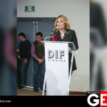 La directora general del Sistema DIF Sinaloa, Connie Zazueta Castro