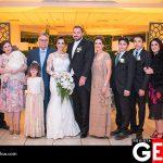 La familia Castillo feliz por el matrimonio de la pareja