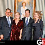 David Tamayo y Mónica Ramos de Tamayo junto a los futuros esposos