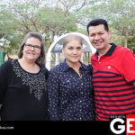 Dolores Barraza, Lorena Iriarte y Julio Quintero
