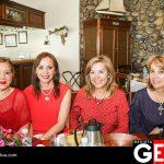 Leticia Delgado, Patricia Ávila de Acosta, Blanca de Mata y Rosa Mery García