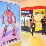Galerías Mazatlán inaugura expo Lotería de Marvel