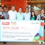 Grupo Panamá entrega cheque a Banco de Alimentos de Sinaloa