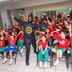 Instituto Senda: Alim Kamara contagia su gran entusiasmo