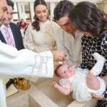 Recibe el bautismo Emilia Llausás Fernández